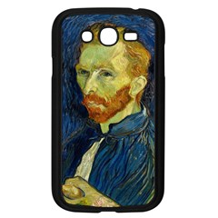 Vincent Van Gogh Self Portrait With Palette Samsung Galaxy Grand DUOS I9082 Case (Black)