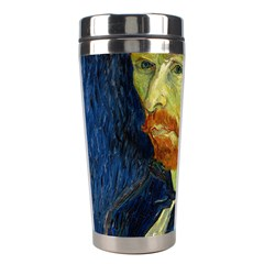 Vincent Van Gogh Self Portrait With Palette Stainless Steel Travel Tumbler