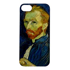 Vincent Van Gogh Self Portrait With Palette Apple iPhone 5S Hardshell Case