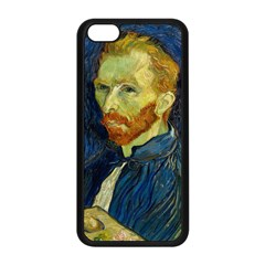 Vincent Van Gogh Self Portrait With Palette Apple iPhone 5C Seamless Case (Black)