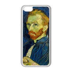 Vincent Van Gogh Self Portrait With Palette Apple Iphone 5c Seamless Case (white)