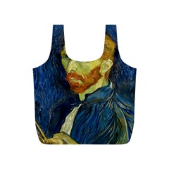 Vincent Van Gogh Self Portrait With Palette Reusable Bag (S)