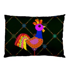 Rooster Pillow Case (two Sides)