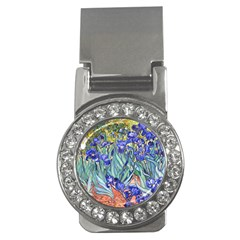 Vincent Van Gogh Irises Money Clip (CZ)