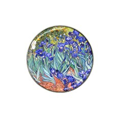 Vincent Van Gogh Irises Golf Ball Marker 4 Pack (for Hat Clip)