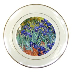 Vincent Van Gogh Irises Porcelain Display Plate