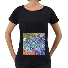 Vincent Van Gogh Irises Women s Loose Fit T Shirt (black)