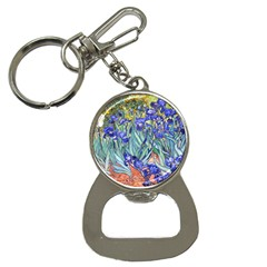Vincent Van Gogh Irises Bottle Opener Key Chain