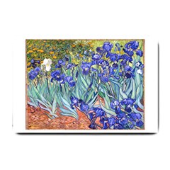 Vincent Van Gogh Irises Small Door Mat