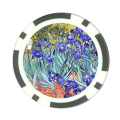 Vincent Van Gogh Irises Poker Chip
