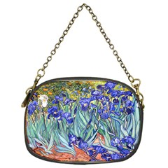 Vincent Van Gogh Irises Chain Purse (one Side)