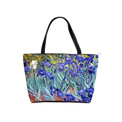 Vincent Van Gogh Irises Large Shoulder Bag