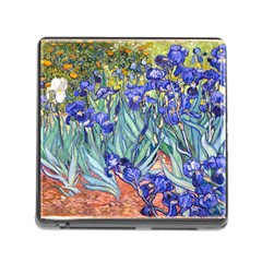Vincent Van Gogh Irises Memory Card Reader With Storage (square)