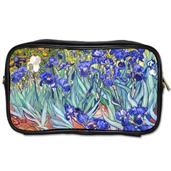 Vincent Van Gogh Irises Travel Toiletry Bag (two Sides)