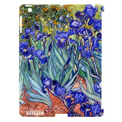 Vincent Van Gogh Irises Apple Ipad 3/4 Hardshell Case (compatible With Smart Cover)