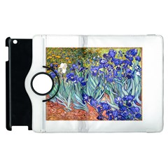 Vincent Van Gogh Irises Apple iPad 3/4 Flip 360 Case