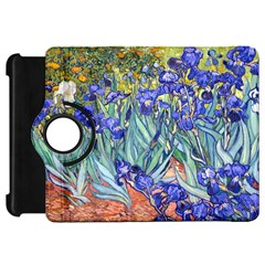 Vincent Van Gogh Irises Kindle Fire HD 7  (1st Gen) Flip 360 Case