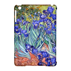 Vincent Van Gogh Irises Apple iPad Mini Hardshell Case (Compatible with Smart Cover)