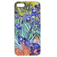 Vincent Van Gogh Irises Apple Iphone 5 Hardshell Case With Stand