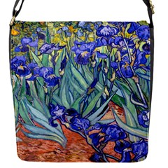 Vincent Van Gogh Irises Removable Flap Cover (small)