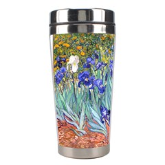 Vincent Van Gogh Irises Stainless Steel Travel Tumbler