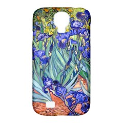 Vincent Van Gogh Irises Samsung Galaxy S4 Classic Hardshell Case (PC+Silicone)