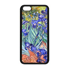 Vincent Van Gogh Irises Apple iPhone 5C Seamless Case (Black)