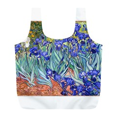 Vincent Van Gogh Irises Reusable Bag (L)