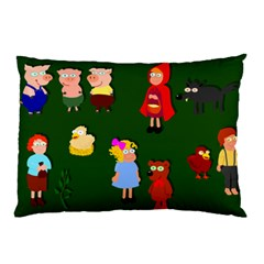 Night Time Stories Pillow Case (Two Sides)