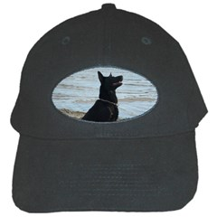 Black German Shepherd Black Baseball Cap