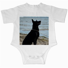 Black German Shepherd Infant Bodysuit