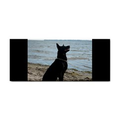 Black German Shepherd Hand Towel