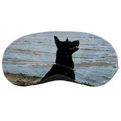 Black German Shepherd Sleeping Mask