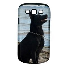 Black German Shepherd Samsung Galaxy S III Classic Hardshell Case (PC+Silicone)
