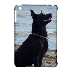 Black German Shepherd Apple iPad Mini Hardshell Case (Compatible with Smart Cover)