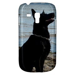 Black German Shepherd Samsung Galaxy S3 Mini I8190 Hardshell Case