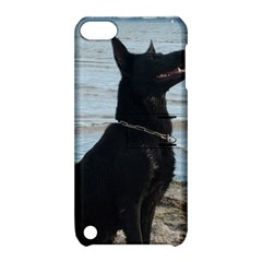 Black German Shepherd Apple Ipod Touch 5 Hardshell Case With Stand