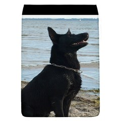 Black German Shepherd Removable Flap Cover (Small)