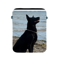 Black German Shepherd Apple iPad Protective Sleeve