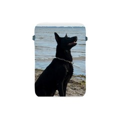 Black German Shepherd Apple iPad Mini Protective Sleeve