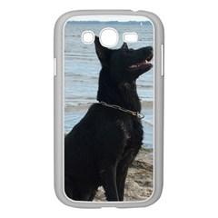 Black German Shepherd Samsung Galaxy Grand DUOS I9082 Case (White)