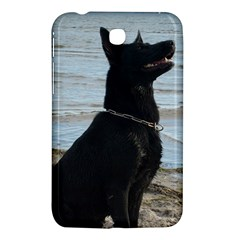 Black German Shepherd Samsung Galaxy Tab 3 (7 ) P3200 Hardshell Case