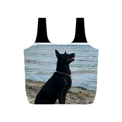Black German Shepherd Reusable Bag (s)