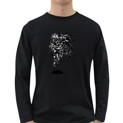 Make A Noise Men s Long Sleeve T-shirt (Dark Colored)