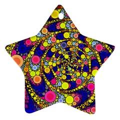 Wild Bubbles 1966 Star Ornament