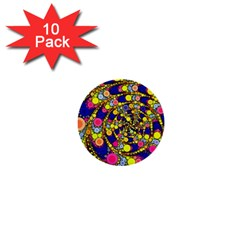 Wild Bubbles 1966 1  Mini Button (10 pack)