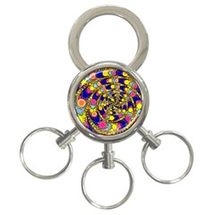Wild Bubbles 1966 3-Ring Key Chain