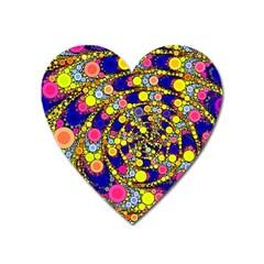 Wild Bubbles 1966 Magnet (Heart)