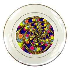 Wild Bubbles 1966 Porcelain Display Plate