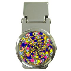 Wild Bubbles 1966 Money Clip with Watch